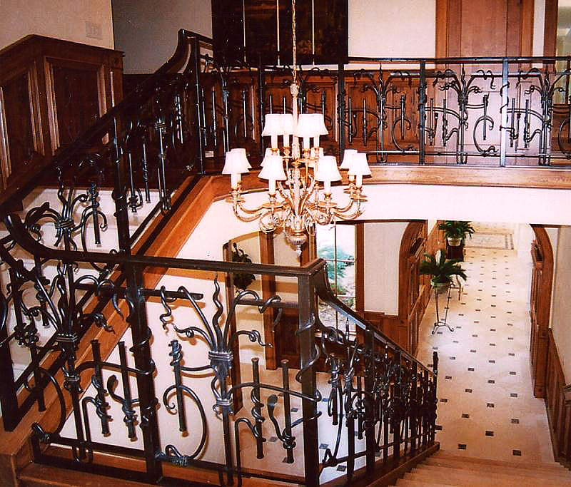 ... To Elegant Grand Staircase Railing, Let Us Be Your Chosen Contractor.  Call MSW Today If You Are Considering New Construction Or Renovation Work  At Your ...